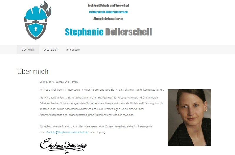 Website - Stephanie-Dollerschell.de