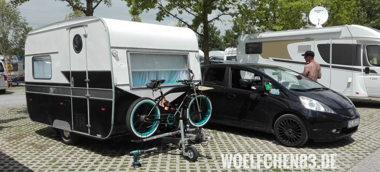 Hellvis auf dem Europa-Park Campingplatz